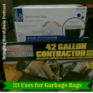 55 Uses for Garbage Bags