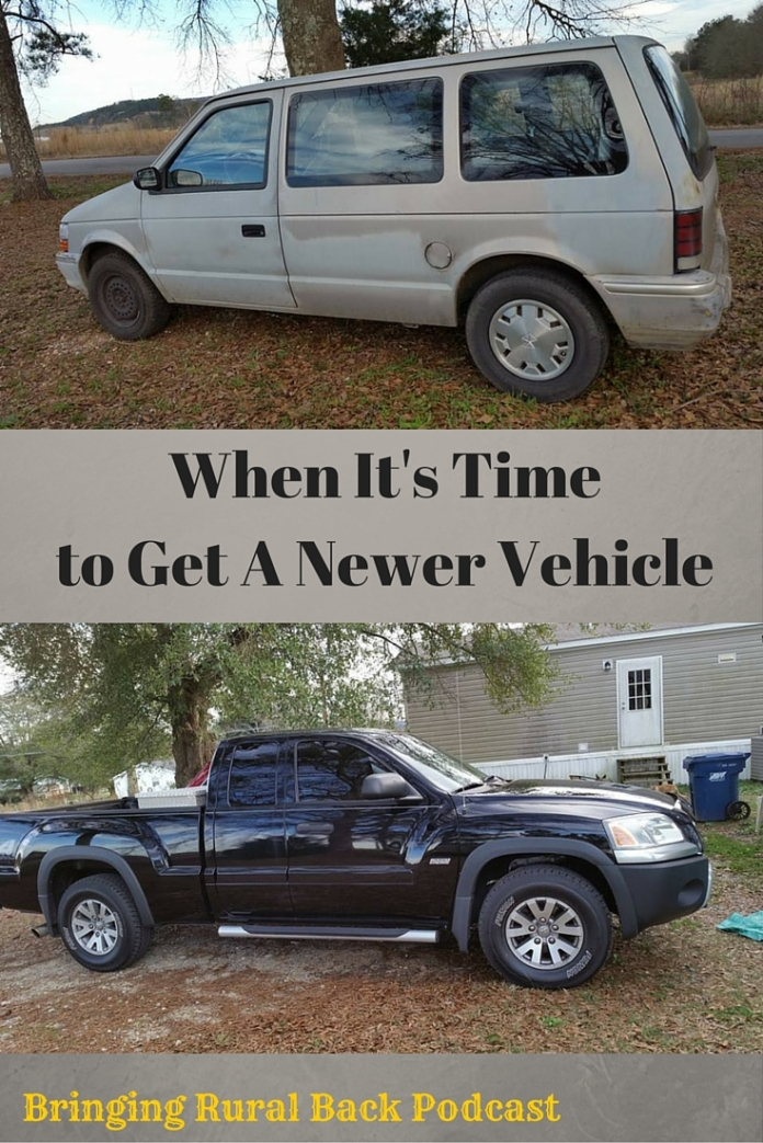When It's Time to Get A Newer Vehicle